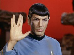 The Vulcan salute is based on the priestly blessing of the Kohanim