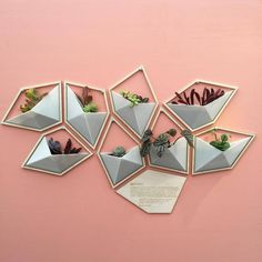 Our wall planter design makes its debut at exhibit from May at Astor Place, NYC! Our series is inspired by the story of amateur mathematician In Rice read an article by Modelos 3d, Wall Decor, Room Decor, Interior Decorating, Interior Design, 3d Prints, Home And Deco, Designer Wallpaper, Plant Decor