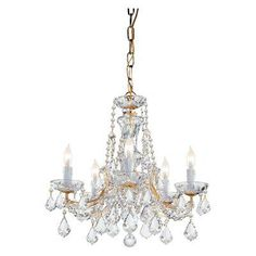 Chandeliers Free Shipping Cute Bedroom Lamp Blown Glass Crystal Chandelier Cheap Drip-Dry