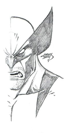 Wolverine SKETCH 2015 by LucasAckerman on DeviantArt