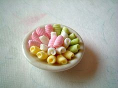 Thai Sweets on a Ceramic Plate