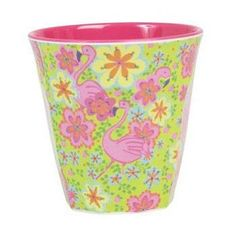 The General Store :: Rice melamine cup Flamingo