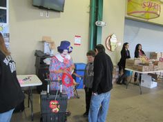 Clowns and balloon animals for the kids