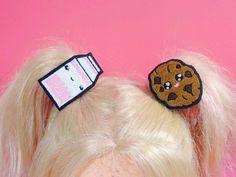 Kids Hair Clips Christmas Stocking Stuffers by KawaiiHairCandy