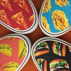 Who wouldn't want a closet full of pizza, fries, tacos and burgers? Get your @vans Late Night pack at Zumiez!