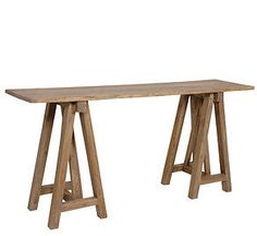 Extra Wide Wooden Trestle Table PLEASE NOTE: The Wood Colour And Finish May  Varyu2026 | SOPHIES CARAVAN | Pinterest | Wooden Trestle Table And Trestle  Tables