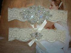 SALE  Shop Best Seller Wedding Garter Set by LucyBridalBoutique, $22.00