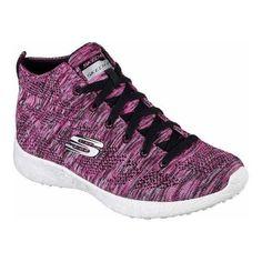 23dd4fcc7e2 Women s Skechers Burst Divergent High Top Pink  Pink Black