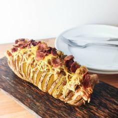 Deze simpele truc transformeert een gebakken aardappel in een stukje kunst. Bijna te mooi om te eten! - Zelfmaak ideetjes