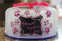 You can have your cake carrier but don't eat it too. http://joyslife.com/vinyl-flip-flop-summer-sand-pail-lori-whitlock-design-team-post/