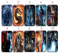 Mortal Kombat  Apple iPhone 5/5S Case Black White (1Pcs)