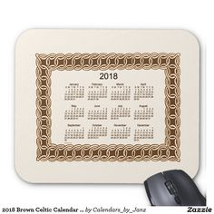2017 Moss Green Celtic Artwork Calendar by Janz Mouse Pad Celtic Calendar, Art Calendar, Presents For Him, Celtic Art, Pin Collection, Coupon Codes, Framed Art, Turquoise, Make It Yourself