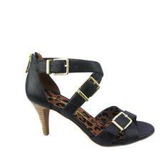 Eugenias Black Sandals