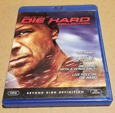 Die Hard: The Ultimate Collection (Blu-ray Disc, 2009, 4-Disc Set) Bruce Willis