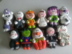 Trick or treat figures