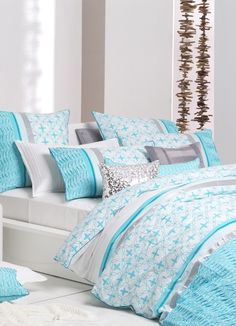 Shop the best quality Quilt covers, Quilt cover Sets, Doona Covers, Duvet covers online to mesmerize yourself with desired bedding decoration and comfort. Bed Decor, King Size Bed, Bedroom Themes, Bedroom Design, Bedroom Inspirations, Bed, Duvet Cover Sets, Beautiful Bedding, Girl Bedroom Decor