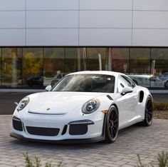 Porsche 991 GT3 RS painted in White  Photo taken by: @dbaderphoto on Instagram