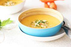 Recetas de Mon: Crema de puerros y zanahorias (sin patata)