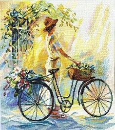 Mujer en Bicicleta - Ursula - Álbumes web de Picasa.