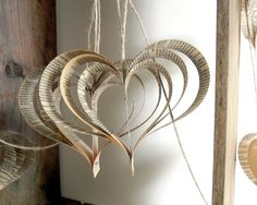 Wedding garland Shakespeare upcycled books hearts in by bookity. $28.00, via Etsy.