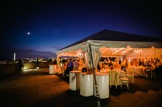 Private Events | Charlie Palmer Steak DC by Charlie Palmer - Rooftop wedding venue in DC