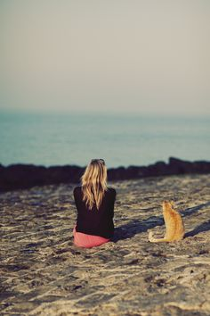 My dream vacation is to roam freely with my cat Sookie on the beach. :)