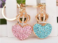 Cheap fashion styler, Buy Quality fashion words directly from China fashion spring summer 2010 Suppliers:  2014 new Fashion nice heart with crown design love 3D Car Keychain Bag Charm Purse Pendant Rhinestone Keyring key chain