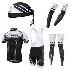 Star General Black Short Sleeve Cycling Full Set