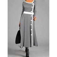 LightInTheBox - Παγκόσμιες Online Αγορές για Φορέματα, Σπίτι & Κήπος, Ηλεκτρονικά Προϊόντα, Ένδυση Γάμου Shift Dresses, Cheap Maxi Dresses, Women's Dresses, Party Dresses, Dresses Online, Long Sleeve Maxi, Maxi Dress With Sleeves, Womens Swing Dress, Manga Floral