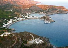 Kythira Thalia, Beautiful Islands, Greek Islands, Natural Beauty, Sailing, Waterfall, Paradise, Landscapes, Boat
