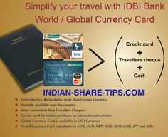 IDBI Bank World/ Global Currency Card