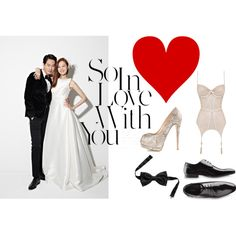 I'm in Love with you by vanessaeale on Polyvore featuring mode, Agent Provocateur and Giuseppe Zanotti