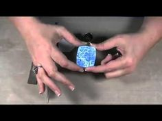 How to create a faux ceramic pendant with Shirley Rufener our newest Pol...
