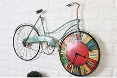 Bicycle Wall Clock   $145.08   Best Deals Unique Decor   Rouse the Room