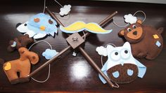 Baby Crib Mobile  Music Baby Mobile  Felt Mobile  by kasekdesign, $85.00