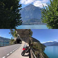 Thunersee  Lake of Thun  #thunersee #lake #lakeofthun #thun #interlaken #beatenbucht #niesen #see #motorrad #motorbike #toeff #töff #motorcycle #picoftheday #instagood #jungfrauregion #berneroberland #berneseoberland #switzerland #switzerlandpictures