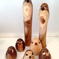 Fugle i træ - Sikka