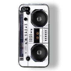 Feeling nostalgic? Make your iPhone/iPod look like a boom box!