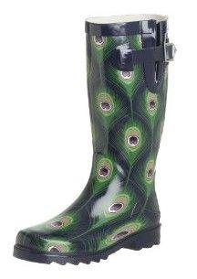 Chooka Peacock Rain Boots