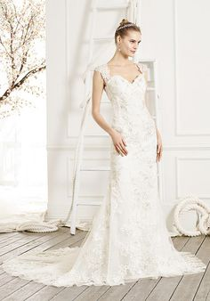 Floral lace wedding dress with sweetheart neckline, cap sleeves and beaded accents I Style: BL208 Jubilee I Beloved by Casablanca Bridal I https://www.theknot.com/fashion/bl208-jubilee-beloved-by-casablanca-bridal-wedding-dress?utm_source=pinterest.com&utm_medium=social&utm_content=july2016&utm_campaign=beauty-fashion&utm_simplereach=?sr_share=pinterest