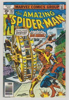 Amazing Spider-Man; Vol 1, 183, Bronze Age  Comic Book.  VF+. August 1978.  Marvel Comics #spiderman #comicsforsale