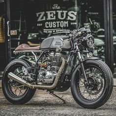 "5,205 Likes, 33 Comments - Cafe Racer And Bobber Nation (@caferacerandbobbernation) on Instagram: ""Thanks for sharing this amazing project! @zeuscustom Really badass build. Clean details. Can't…"""