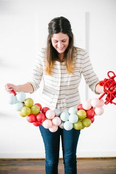 DIY // Hosting a holiday craft party with Martha Stewart Living!
