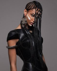 Cyberpunk tribal afro hair impeccable artistry – AFROPUNK