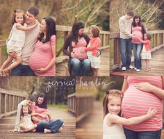 puyallup maternity photographer love the simplicity of the clothes and location. All I need is a bridge. LOL