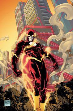 Flash (Wally West) by Freddie E. Williams II