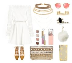 """""""Boho Babein"""" by karla-snyders on Polyvore featuring Ray-Ban, Stella & Dot, Kenneth Jay Lane, Chloe + Isabel, Skemo, Terre Mère, HUGO, Yves Saint Laurent and Charlotte Russe"""