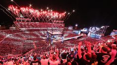 WWE touts record breaking night for WrestleMania 33 - Cageside Seats