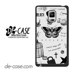 One Direction Harry Styles Tattoos DEAL-8226 Samsung Phonecase Cover For Samsung Galaxy Note Edge