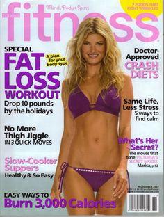 magazine pink bikini Marisa miller shape